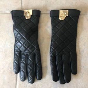 🖤 Michael Kors Leather Gloves